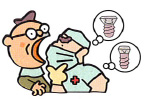 診査、診断、治療計画の立案